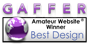 Amateur Website Best Design Award